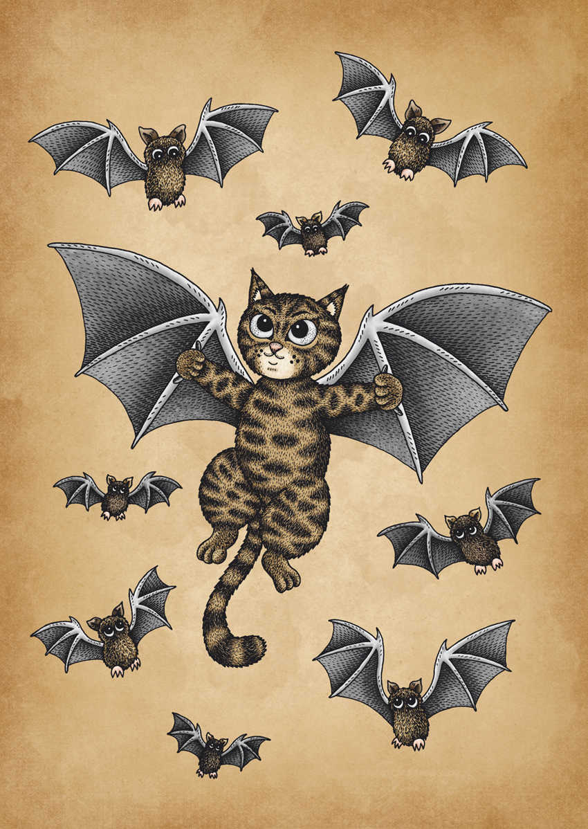 The Bat Cat by Jenny Bommert, 2017