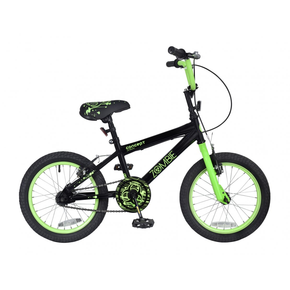 "Concept Zombie 16"" Wheel Boys Bicycle"