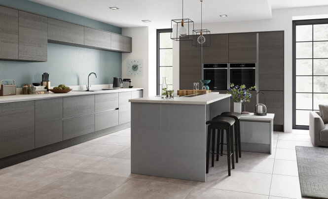Tavola Anthracity & Zola Gloss Dust Grey