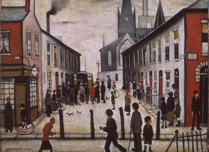 L.S Lowry - Signed