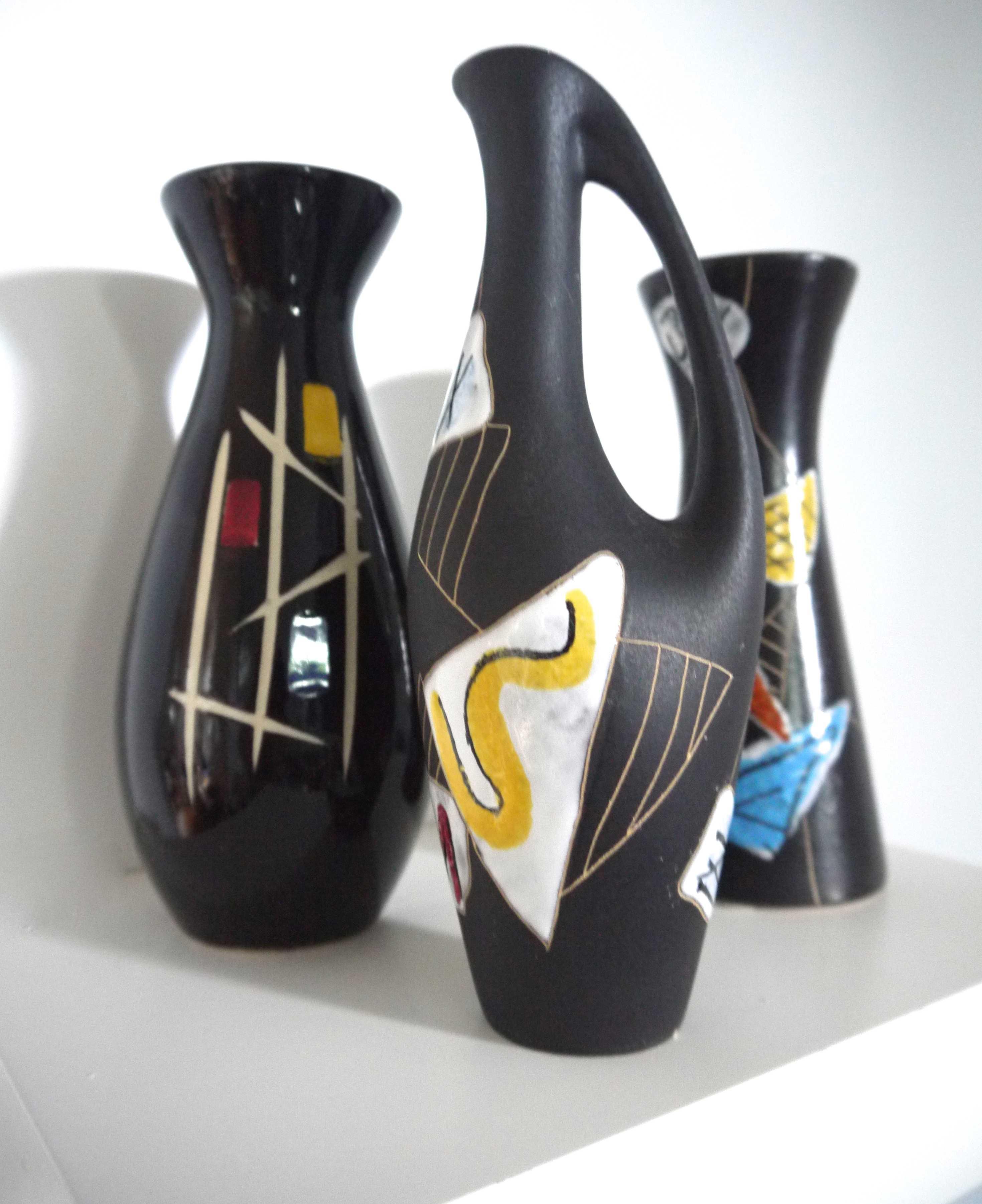 Of ruscha vases inc rare ruscha morocco vases trio of ruscha vases inc rare ruscha morocco vases signed reviewsmspy