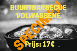 Ticket BBQ VOLWASSENE