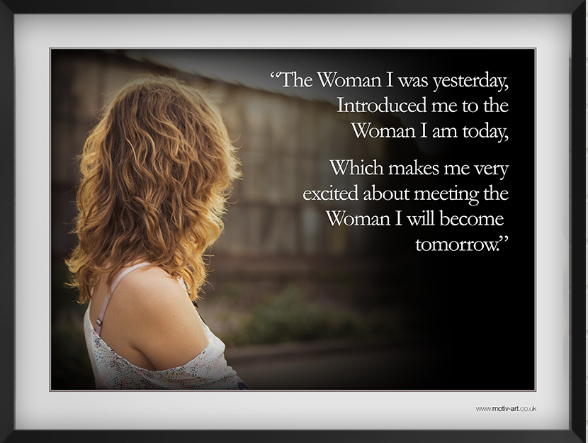 The Woman I was...