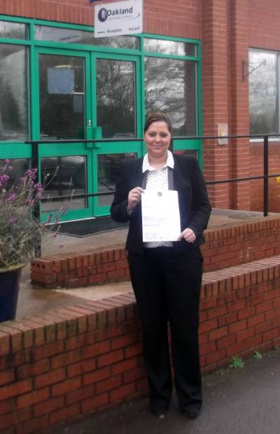 On the job NEBOSH training secures distinction for Oakland International manager