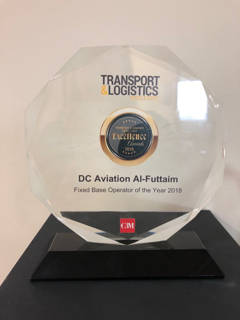 DC Aviation Al-Futtaim Award