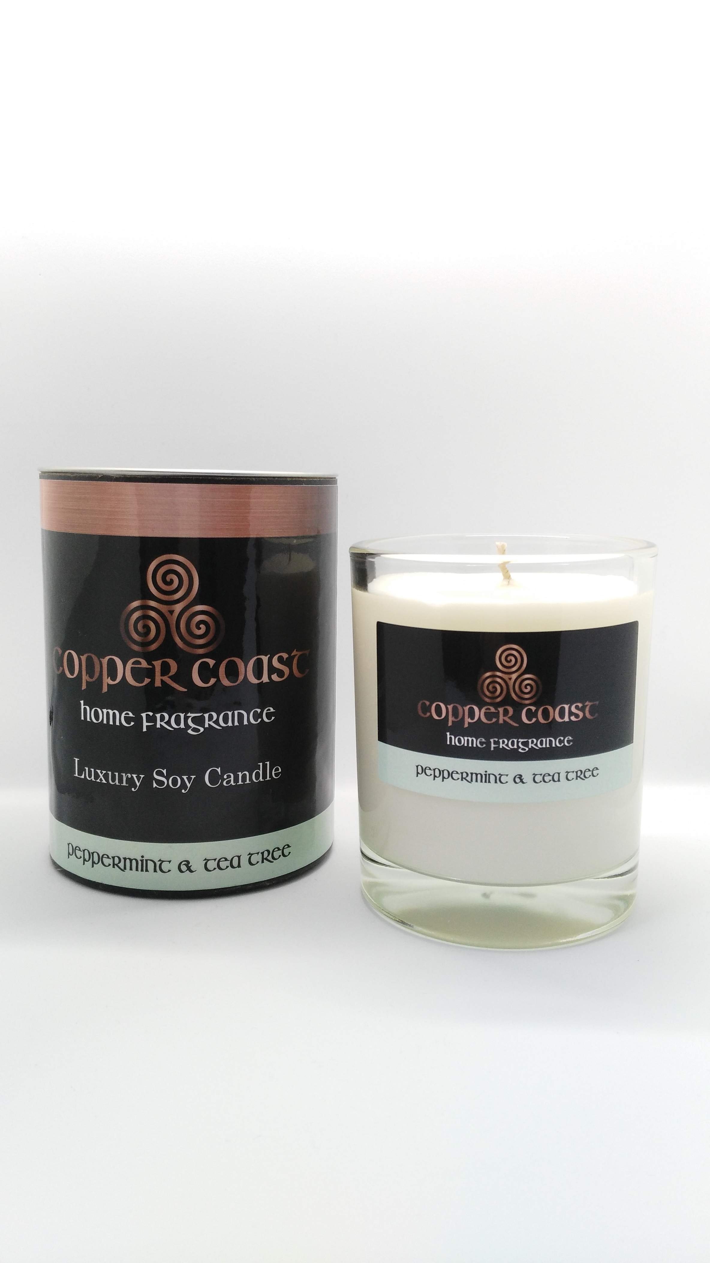 Soy Wax Candle - Glass 225ml