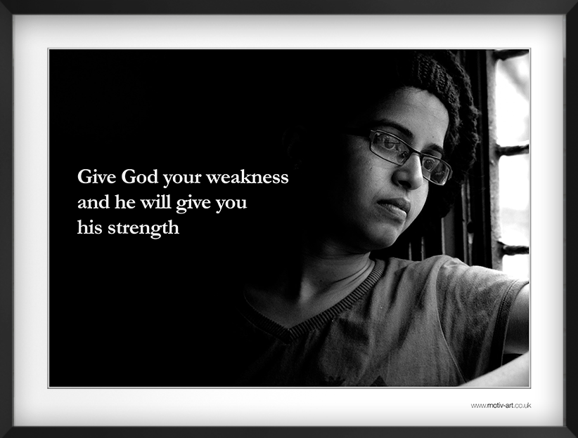Give God your...