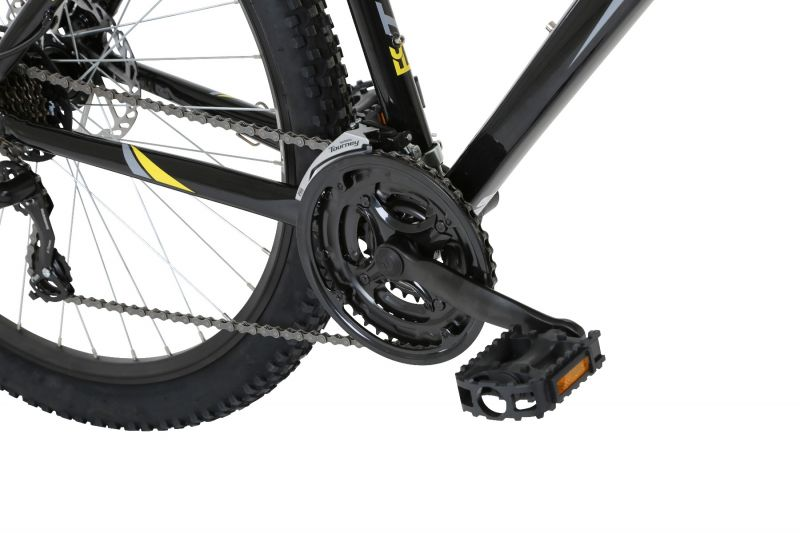 Freespirit Tread Disc Gents MTB Black / Yellow