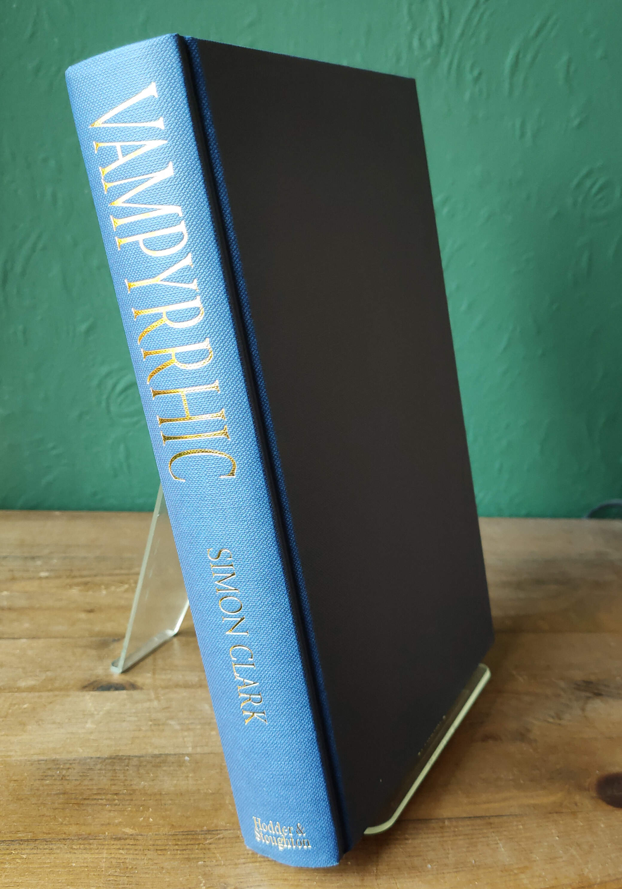 Vampyrrhic Signed UK First Edition