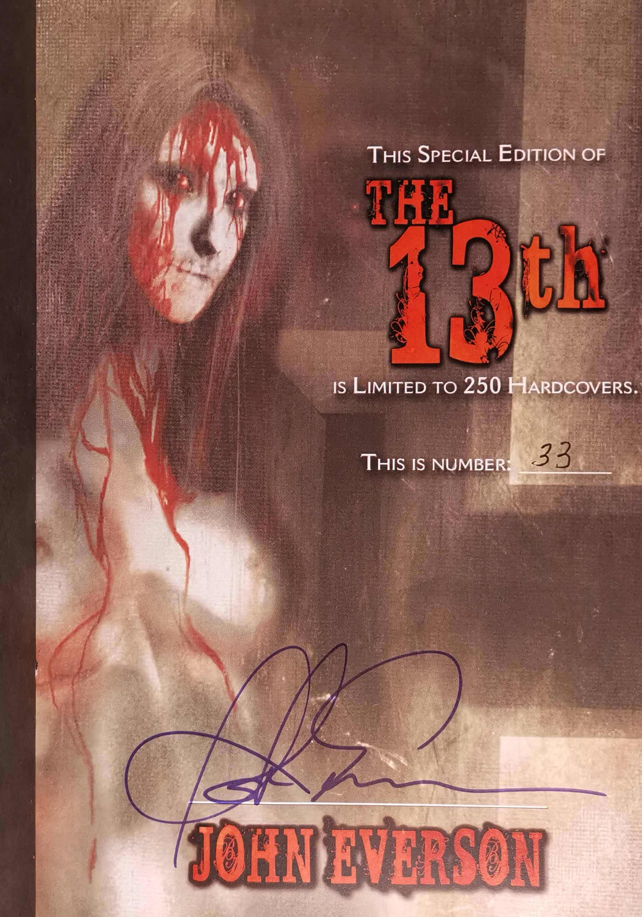 The 13TH Limited Edition