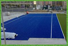 construccion pistas tenis baratas