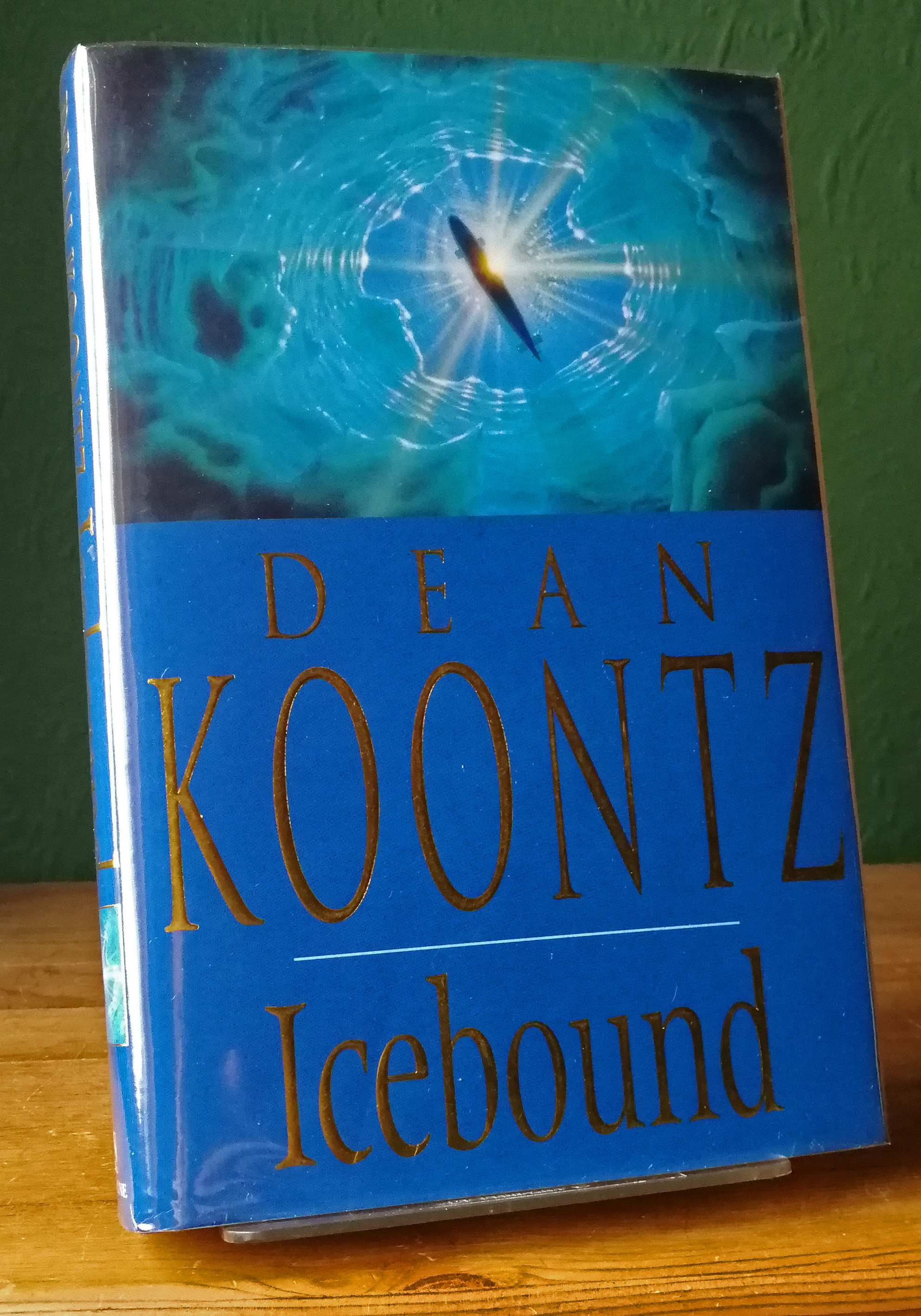 Icebound UK First Edition