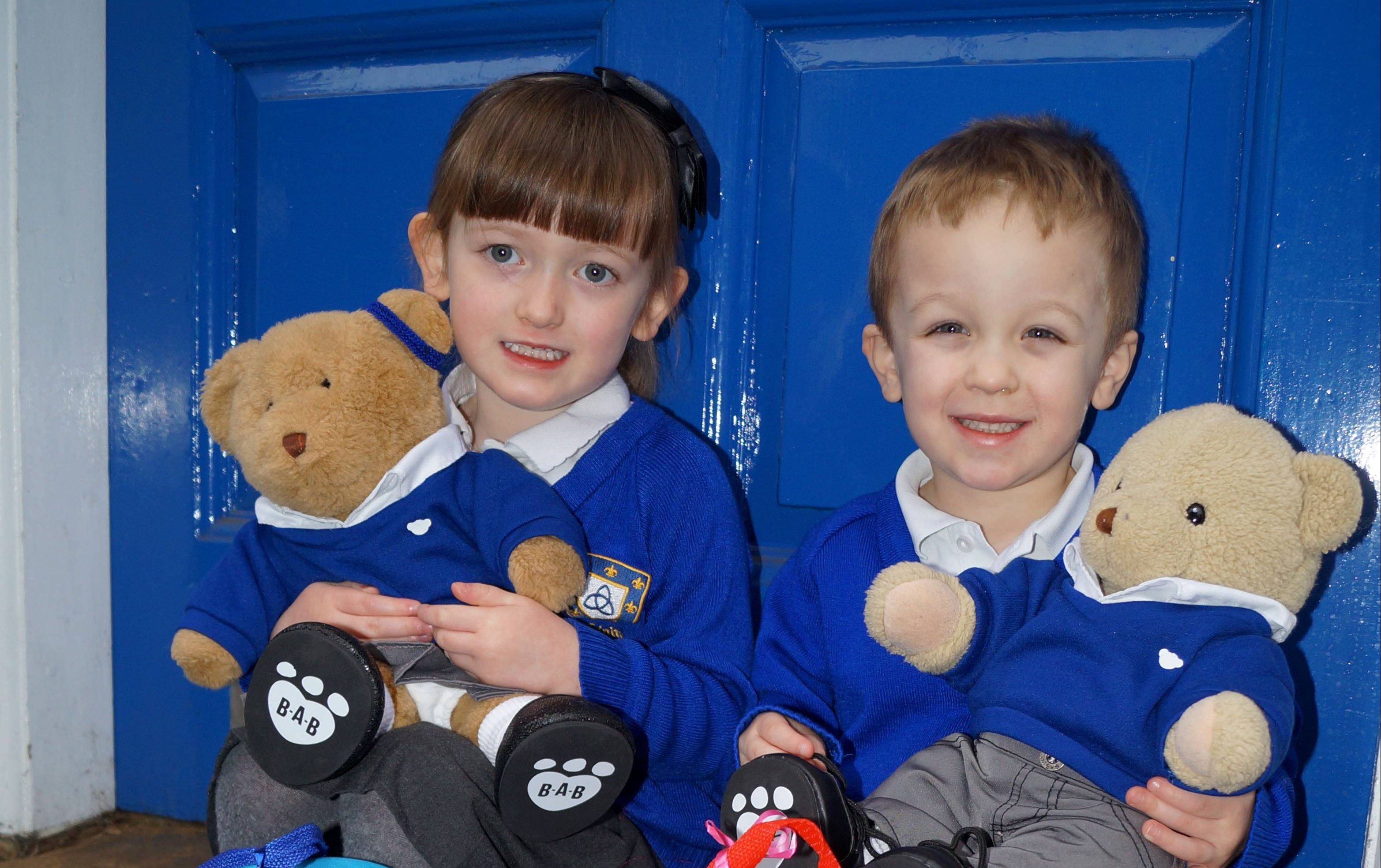 Ben and Barbara Bear Visit Kidderminster Nursery