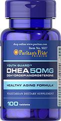 Sallutar Suplementos DHEA 50mg 100 tabs