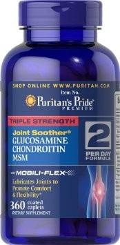 Sallutar Suplementos Glucosamina, Chondroitine & MSM 90 tabs