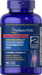 Sallutar SóBH Glucosamina, Chondroitine & MSM 90 tabs