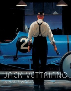 A Man's World Jack Vettriano Signed Book