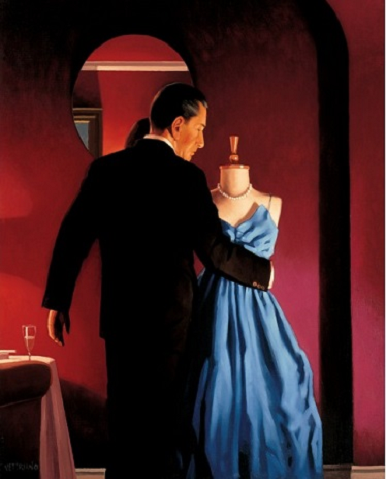 Altar Of Memory Jack Vettriano Limited Edition Print