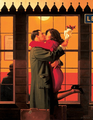 Back Where You Belong Jack Vettriano Artists Proof