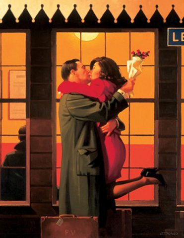 Back Where You Belong Jack Vettriano Artist Proof Limited Edition Print