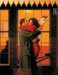 Back Where You Belong Jack Vettriano Limited Edition Print
