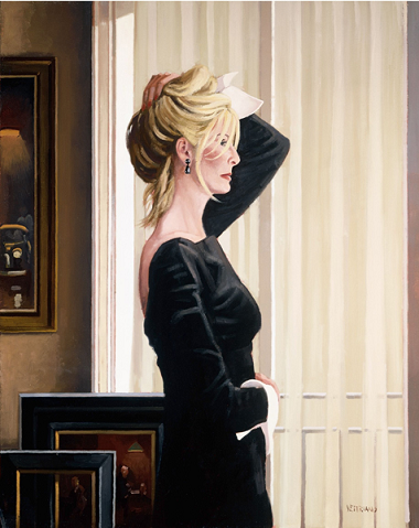 Black On Blonde Jack Vettriano Limited Edition Print