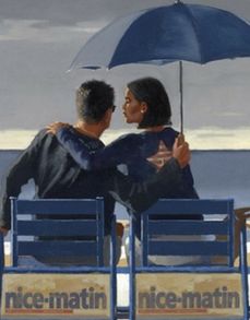 Blue Blue Limited Edition Artist Proof  Print Jack Vettriano