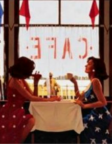 Cafe Days Jack Vettriano Limited Edition Artist Proof Print