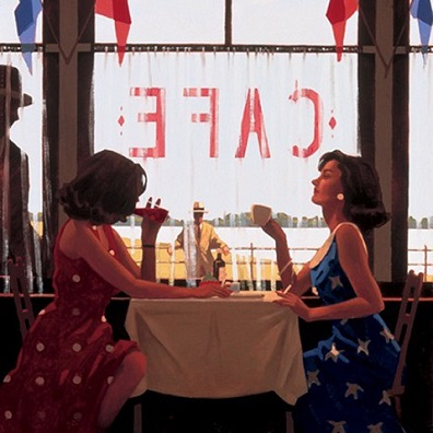 Cafe Days Jack Vettriano Artists Proof