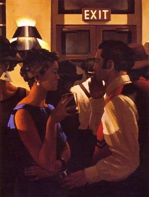 City Cafe Jack Vettriano Signed Prints