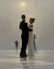 Dance Me To The End Of Love Open Edition Print Jack vettriano