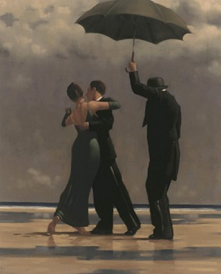 Dancer In Emerald Jack Vettriano Large Format