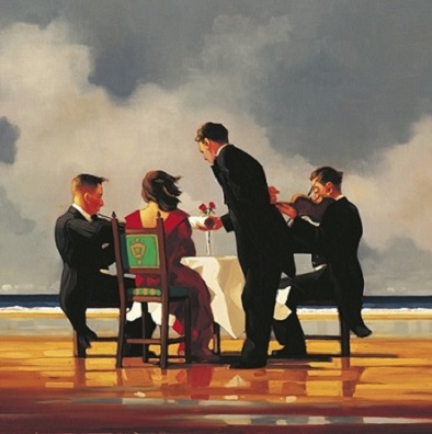 Elegy For A Dead Admiral Jack Vettriano Signed Prints