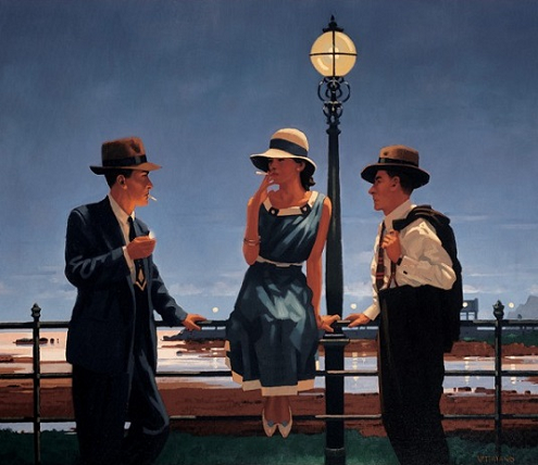 Jack Vettriano - Game of Life