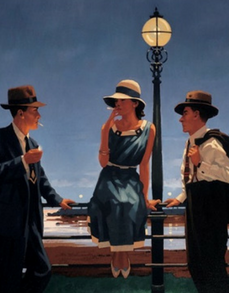 The Game Of Life Jack Vettriano Limited Edition Artist Proof Print