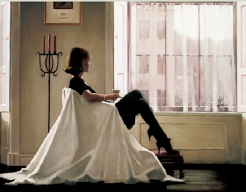 In Thoughts Of You Jack Vettriano