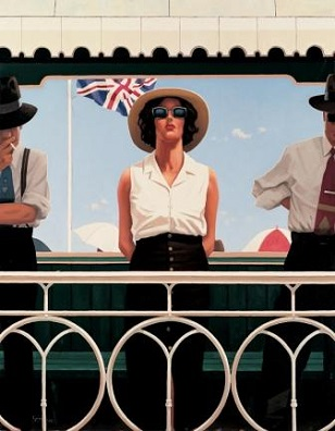 Bird on The Wire Jack Vettriano Artist Proof