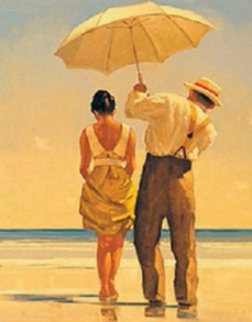Mad Dogs Jack Vettriano Print