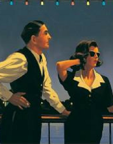 Midnight Blue Open Edition Print Jack Vettriano