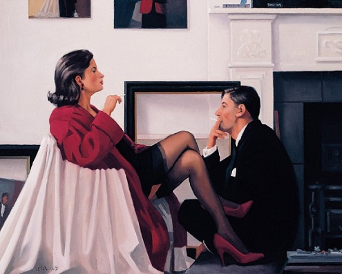 Models In The Studio Jack Vettriano Artists Proof