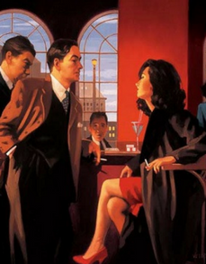 Jack Vettriano The Red Room