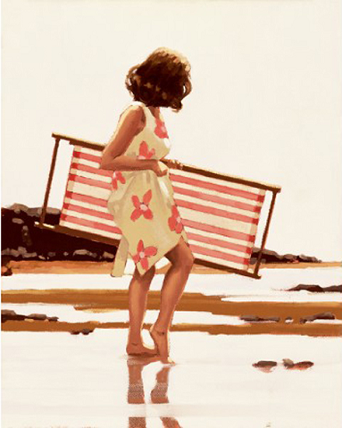 Sweet Bird of Youth Study Jack Vettriano Limited Edition Print