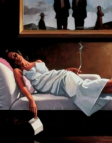 The Letter Jack Vettriano Limited Edition Print