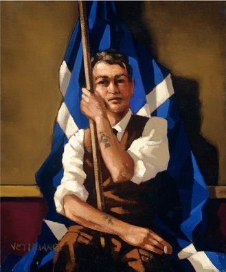 The Nationalist Artist Proof Jack Vettriano