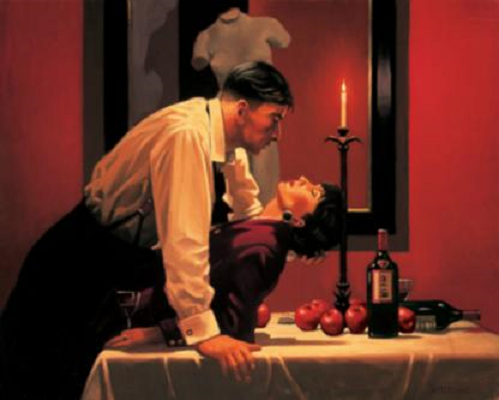 Jack Vettriano - The Partys Over