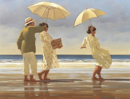 Picnic Party Jack Vettriano Signed Print