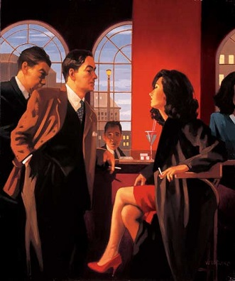 The Red Room Jack Vettriano Signed Prints