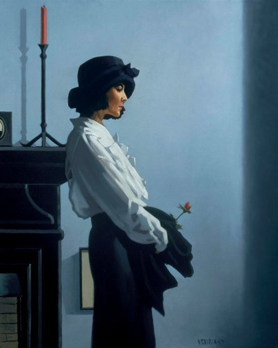 Valentine Rose Limited Edition Print Jack Vettriano