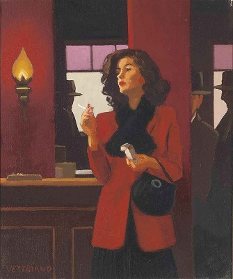 Jack Vettriano - A Woman Must Have Everything