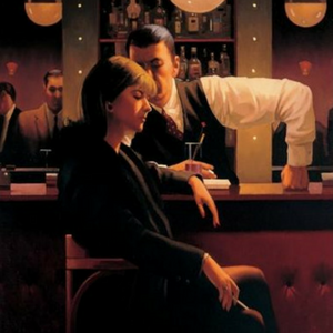 Between Darkness & Dawn Jack Vettriano Signed Catalogue